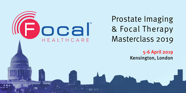 Focal Healthcare will be at the Prostate Imaging & Focal Therapy Masterclass